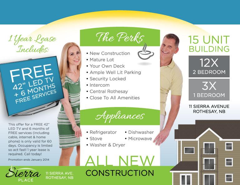 Sierra Place Brochure (Inside)